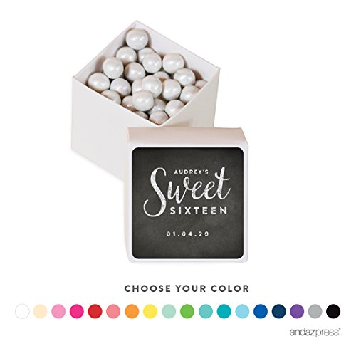Sweet 16 Favor Boxes - 5