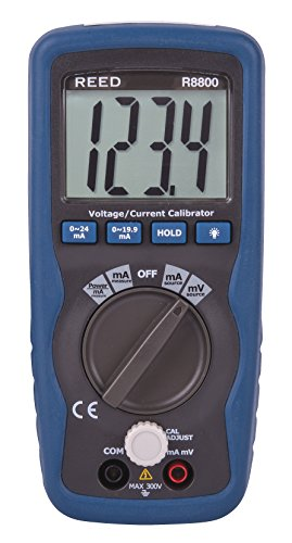 Price comparison product image REED Instruments R8800 Voltage/Current Calibrator, 199.99mV/19.99mA