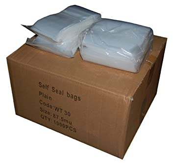 Heavy Duty Extra Strong Polythene Resealable Grip Seal Bags 10 x 18 qty 100 350 gauge 87.5 Micron