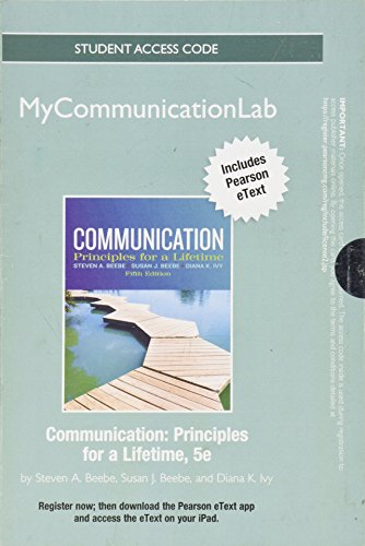 NEW MyCommunicationLab with Pearson eText -- Standalone Access Card -- for Communication (5th Edition)