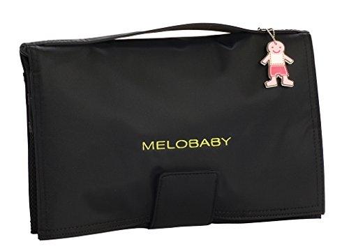 Melobaby MB101 - Melobaby cartera cambiador (color negro)