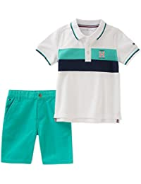Boys' 2 Pieces Polo Shorts Set