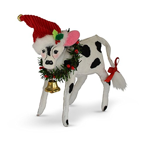 Annalee 6in Jinglebell Cow