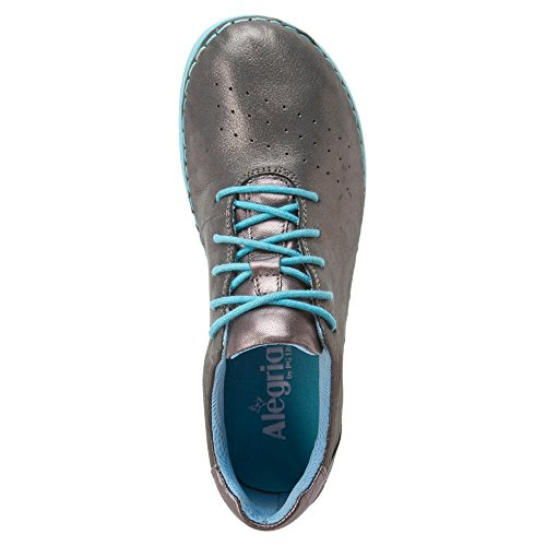 Alegria Womens Essence Sneaker Pewter Easy