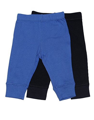Baby Legging 2 Pack Navy & Royal Blue 3 Months