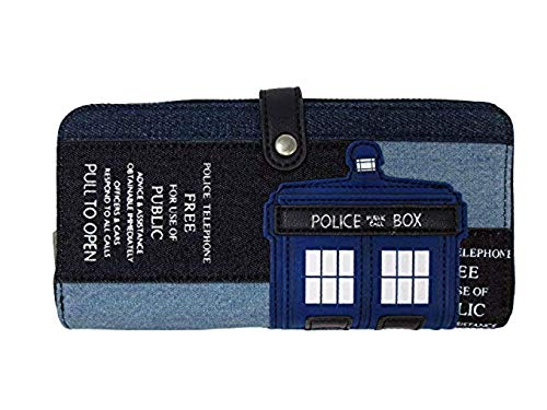 Loungefly x Dr Who Tardis Wallet -