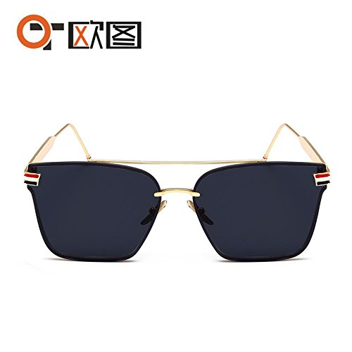 Hombres Gafas TB de Sol Gafas Stars Tide Box LANZHI Female Sol de Nuevas Driving Cuadradas de Sol 8512 Gafas Fashion waxx6OIqf