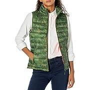 Amazon Essentials Women's Lightweight Water-Resistant Packable Puffer Vest