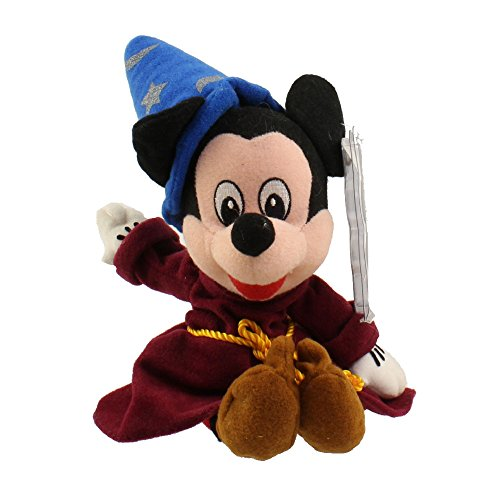 Mickey Mouse Wizard Hat (Disney Bean Bag Plush Mickey Mouse Sorcerer)