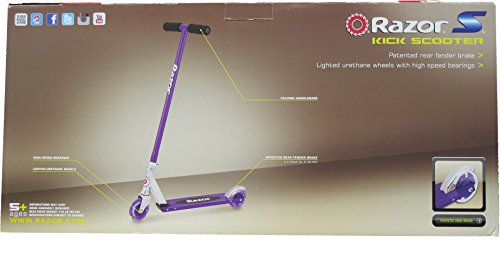 Razor S Light Up Wheels Kick Scooter Blue Green Or Purple Import