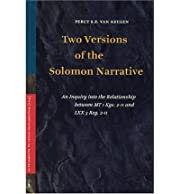 [(Two Versions of the Solomon Narrative: An…