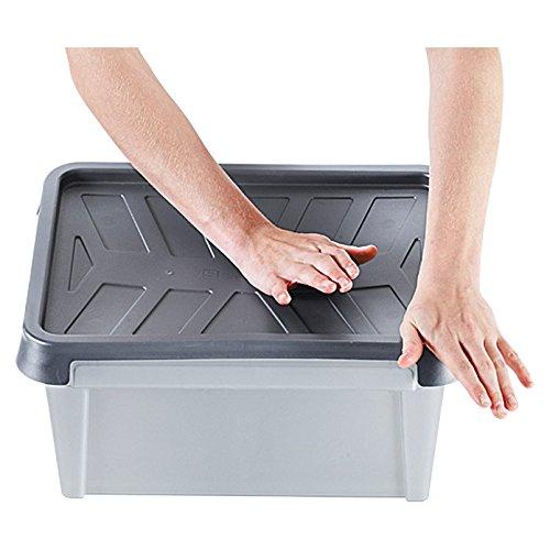 Orthex 3462265/Smart Store Dry Box Grigio PP 60/x 40/x 34/cm