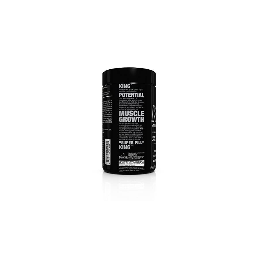 Cutler Nutrition King Motor Anabolic Signaling Agent, 60 Count
