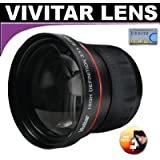 Vivitar Series 1 High Definition 3.5X Telephoto Lens For The Sony HDR-CX110, CX150, CX300, CX350V, XR150, XR350V HD Handycam Camcorder