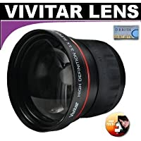 Vivitar Series 1 High Definition 3.5X Telephoto Lens For The Olympus E-600 Digital SLR Camera Which Have Any Of These (14-42mm, 40-150mm, 70-300mm) Olympus Lenses