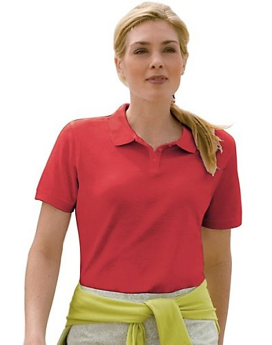 Outer Banks Women's Essential Blended Pique Polo, 2XL-Bright (Essential Ringspun Pique Shirt)