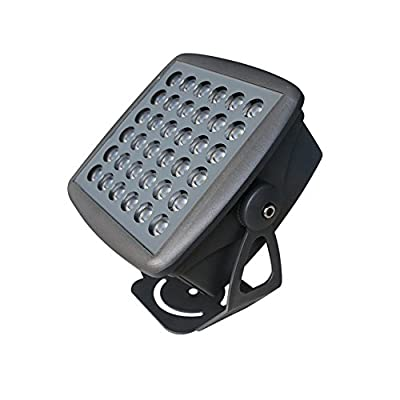 Julitech 24W-36W LED Flood Light, Waterproof IP65, 3500Lm, Super Bright Outdoor LED Flood Lights For Playground, Garage, Garden, Lawn And Yard Model