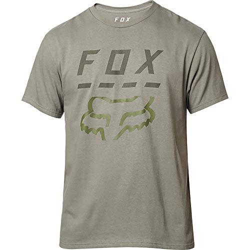 Fox Young Men's Highway SS TEE Shirt, Pewter, XL