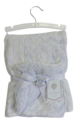 chevron-velvet-berber-baby-blanket-baby-blue