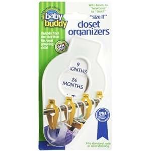 Amazon.com: Baby Buddy Size-It Separadores organizadores ...