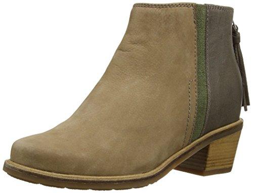 Hush Puppies Stella Cordell - Zapatos Mujer Brown (Lt Tan/Dark Grey)