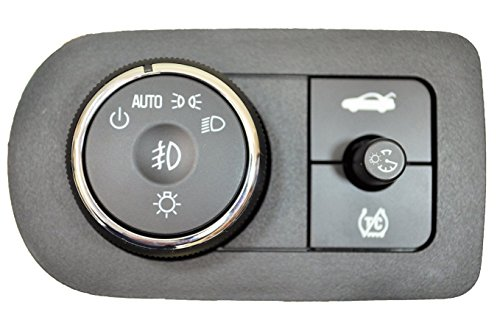 PT Auto Warehouse HLS-10636 - Headlight, Fog Lights, Instrument Panel Dimmer, Trunk Lid Release Switch - with Traction Control, with Bezel ()