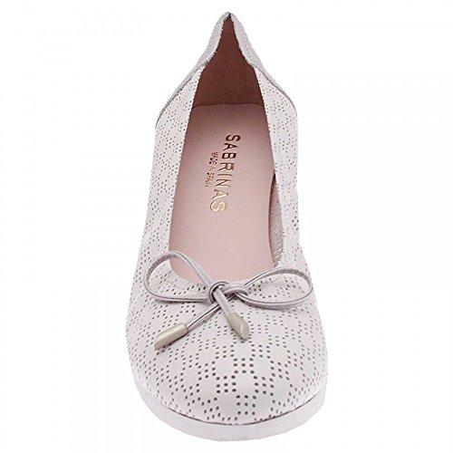 Sabrinas Wedge Slip On Ballet Pump Grey