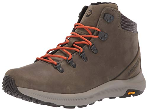 Merrell Men's Ontario MID Hiking Shoe, Olive, 12.0 M US