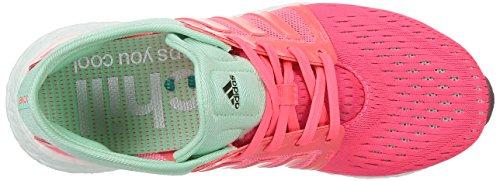 Adidas Cc Rocket Boost W, color de rosa / verde / blanco, 6 con nosotros Pink