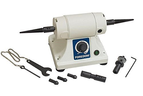 FOREDOM BENCH LATHE K.3340 BENCH MOTOR KIT BL 1 POLISHNG LATHE WITH ATTACHMENTS (LZ 8.5 M BOX) - Zip Spindle Kit