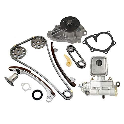 (MOCA Timing Chain Oil Water Pump Kit for 2001-2009 Toyota Camry & Toyota RAV4 & Scion tC & Toyota Highlander 2.0L 2.4L L4 DOHC)