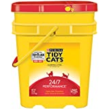 Tidy Cats Cat Litter, Clumping, 24/7 Performance, 35-Pound Pail, Pack of 1