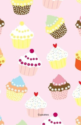 Cupcakes Notebook Journal (Size 5,5 x 8,5): 120 college-ruled pages (60 sheets)