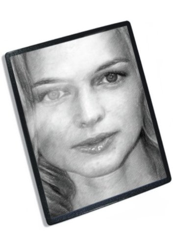 HEATHER GRAHAM - Original Art Mouse Mat #js009