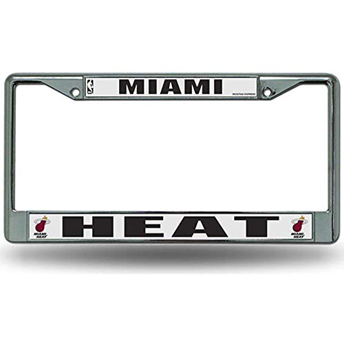 Miami Heat Chrome Frame ()