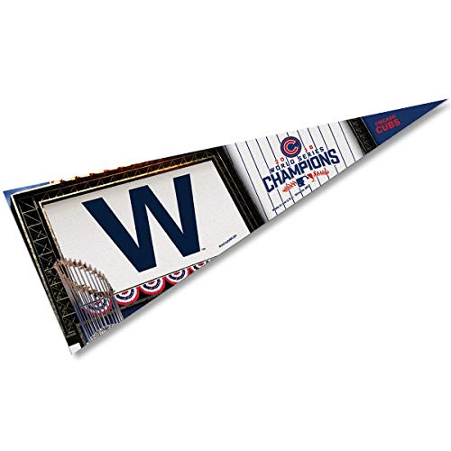Wincraft Chicago Cubs World Series 2016 Soft Felt Pennant ()