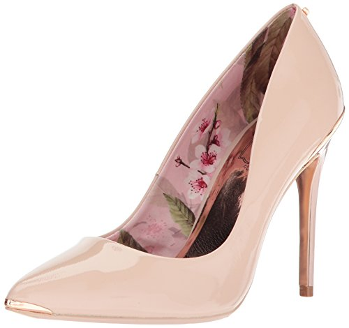 Ted Baker Women's Kaawa 2 Pump, Nude Leather, 7 B(M) - Baker The Designer Ted