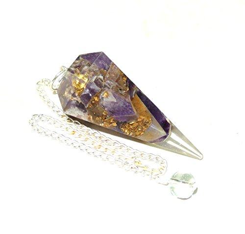 orgone-amethyst-crystal-facet-pendulum-reiki-healing-energy