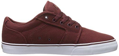 Etnies Barge Low-Top, Men's Skateboarding Shoes Red (Burgundy/Gum)