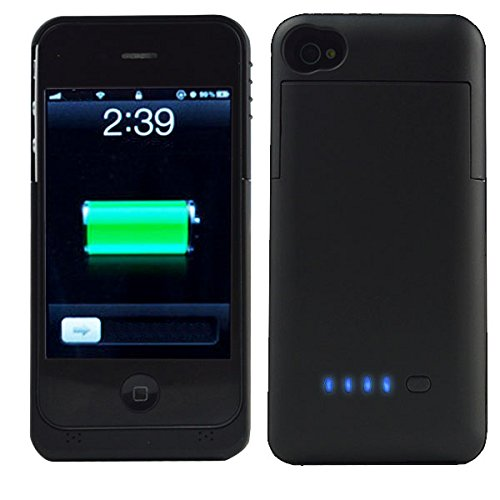 low priced 38526 f04e2 iphone 4s Case, iphone 4 Battery Case, SQdeal Ultra Slim - Import It All