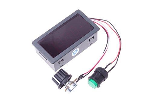 SMAKN® CCM5D Digital Display Led 6V 12V 24V PWM DC Motor Controller Variable Speed Regulator (24 Volt Motor compare prices)