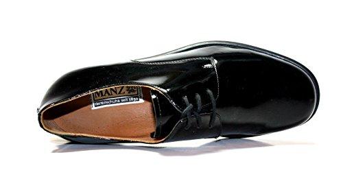 Manz, Espadrillas basse uomo Nero nero 40