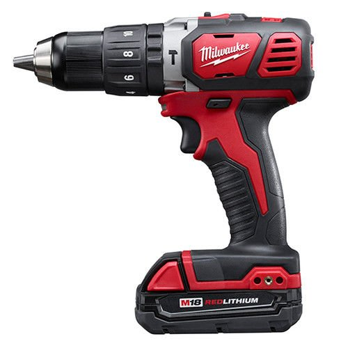 Milwaukee M18 Compact 1/2'' Hammer Drill/Driver Kit (2607-22CT) by Milwaukee Electric Tool (Image #1)