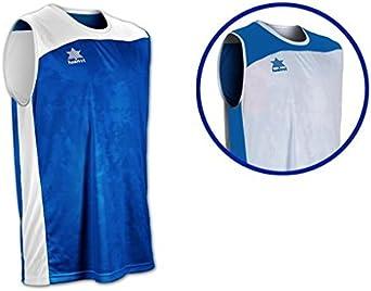 Luanvi Game Camiseta Reversible de Baloncesto, Hombre: Amazon.es: Ropa y accesorios