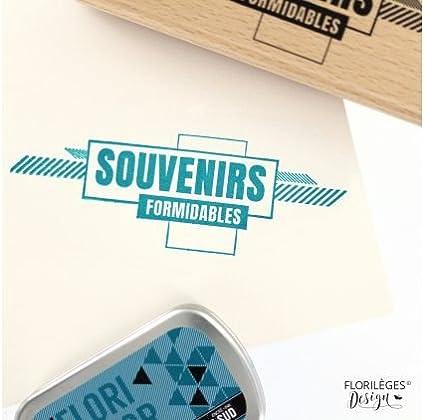 60x150 m Floril/èges Design Tampon Couleur Bois