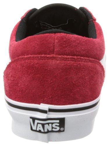 Vans M COLLINS VQFF8SX Herren Sneaker Rot ((Suede) chili pepper)