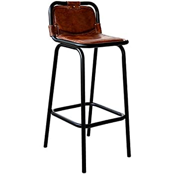 Elegant Vintage Industrial Bar Stool