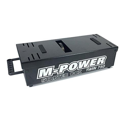 [M-Power Universal 1/8 Scale RC Starter Box] (Universal Nitro Starter Box)