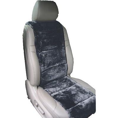 Aegis cover 701003CH Charcoal Luxury Australian Sheepskin Semi Custom Seat Cover Vest: Automotive