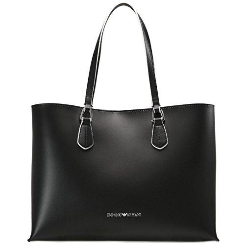 Armani Black Leather Bag - 6
